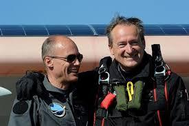 Solar Impulse pilots