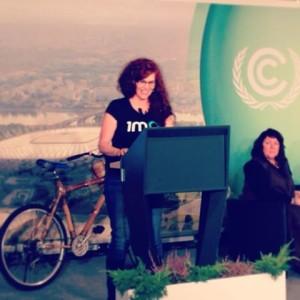 COP19 1 Million Women speech