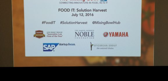 Innovations in Food and Agriculture at FoodIT: Solution Harvest