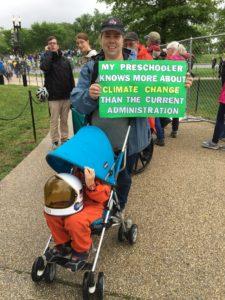 March For Science Preschooler